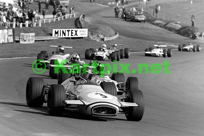 Mike Beuttler's Clarke Mordaunt Racing Brabham BT28 at Brands Hatch 1970<br /> <br /> E.R. Hall Trophy 1970<br /> B.R.S.C.C. MotorSport - Shell Super Oil British F3 Championship, Rd 12<br /> M.C.D. Lombank British F3 Championship, Rd 13<br /> Brands Hatch Circuit