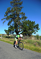 Libby Arbuckle (Bike Manawatu) Under-23 Women. Time trials on Day One of the 2018 NZ Age Group Road Cycling Championships in Carterton, New Zealand on 20 April 2018. Photo: Dave Lintott / lintottphoto.co.nz
