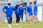 St Johnstone Training....24.02.21<br />Guy Melamed pictured during training at McDiarmid Park ahead of Sunday's BETFRED Cup Final against Livingston at Hampden Park.<br /><br />Picture by Graeme Hart.<br />Copyright Perthshire Picture Agency<br />Tel: 01738 623350  Mobile: 07990 594431