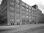 Pittsburgh PA:  View of the Hardie Brothers & Highland Candies Building in the Strip District of Pittsburgh.  The building was located on Pike Street (Smallman Street today).