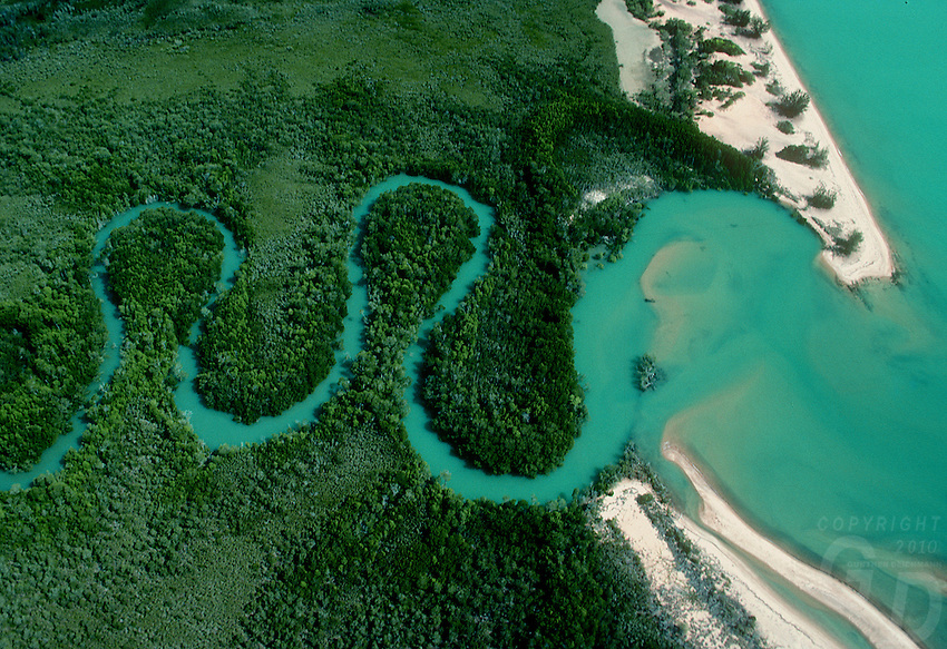 Aerial over the coastline near Batangas, Philippines