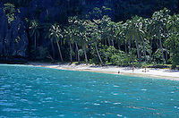 A secluded beach in the el Nido area, Palawan, Philippines