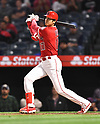 MLB:  Los Angeles Angels Shohei Ohtani during Tampa Bay Rays game