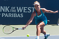 Palo Alto, CA - Sunday, August 6, 2017: Madison Keys defeated Coco Vandeweghe in straight sets 7-6(4) 6-4 to capture Bank of the West Classic 2017 singles title at the Taube Family Tennis Stadium on the Stanford University campus.