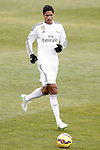 Real Madrid's Raphael Varane during La Liga match.January 18,2013. (ALTERPHOTOS/Acero)