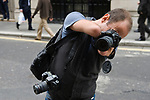 Disabled photographer Simon Smith over coming disabilities UK 2009, 2000s
