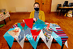 Dingle artrist Deirdre McKenna who's organising a community art project, asking people to make a flag, that will be flown during what should have been Féile na Bealtaine