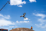 Athletes compete in various sporting events during the summer X-Games at the Circuit of the Americas race track in Austin, Texas.