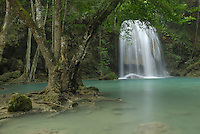 Seven Step Waterfall, Erawan National Park, Thailand