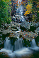 Arethusa Falls<br /> Crawford Notch State Park<br /> White Mountains<br /> Coos County, New Hampshire, New England