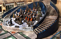 Christmas Scenes in the Uptown Charlotte. The Leonard Bearstein Symphony Orchestra or the Bearstein Bears at Founders' Hall in Uptown is one of Charlotte's most beloved Christmas attractions.