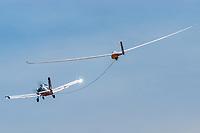 im Segelflugzeug bezeichnet man eien Startart als Flugzeugschlepp