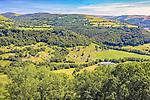 Cantal region of France.