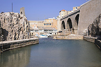 - Marsiglia, l'antico borgo marinaro Vallon des Auffes....- Marseille, the ancient fishing village Vallon des Auffes