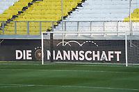 Vorbereitet für das Abschlusstraining - 24.03.2021: Abschlusstraining der Deutschen Nationalmannschaft vor dem WM-Qualifikationsspiel gegen Island, Schauinsland Arena Duisburg