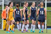 St Andrews v Wellington Girls College. Federation Cup Hockey, Lloyd Elsmore Park, Auckland, New Zealand, Tuesday 3 September 2019. Photo: Simon Watts/www.bwmedia.co.nz/HockeyNZ