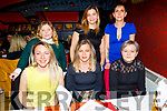 The staff of Precise Cleaning enjoying their Christmas party in Ristorante Uno on Saturday.<br /> Seated l to r: Ieva Breen, Magdalena Joglowska and Karina Kolodziejczyk.<br /> Back l to r: Liuda Permmin, Maria Iatco and Ilze Voicisa.