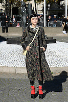 SOKO ( Stephanie Sokolinski ) - Show MIU MIU - Paris Fashion Week Womenswear Spring/Summer 2017 - 5 octobre 2016 - FRANCE