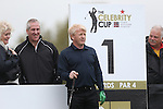Celebrity Golf @ Golf Live.Gordon Strachan on the 1st tee..Celtic Manor Resort.10.05.13.©Steve Pope