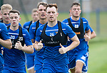 St Johnstone Training….29.06.19   McDiarmid Park, Perth<br />Liam Craig during a training run<br />Picture by Graeme Hart.<br />Copyright Perthshire Picture Agency<br />Tel: 01738 623350  Mobile: 07990 594431