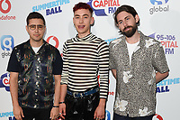 Years & Years<br /> in the press room for the Capital Summertime Ball 2018 at Wembley Arena, London<br /> <br /> ©Ash Knotek  D3407  09/06/2018