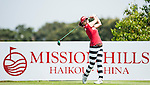 Players in action during the final day of the World Ladies Championship at the Mission Hills Haikou Sandbelt Trails course on 10 March 2013 in Hainan island, China . Photo by Victor Fraile / The Power of Sport Images