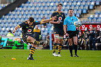22nd November 2020; Ricoh Arena, Coventry, West Midlands, England; English Premiership Rugby, Wasps versus Bristol Bears; Jimmy Gopperth of Wasps kicks a 3 point penalty to equal the score at 3 each on the 18th minute