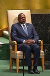 LOS general debate – 27 September<br /> <br /> AM<br /> <br /> His Excellency Mokgweetsi Eric Keabetswe Masisi, President, Republic of Botswana