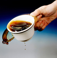 PERIODIC DISTURBANCE IN A COFFEE CUP<br />