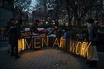 International Women's Day Rally New York