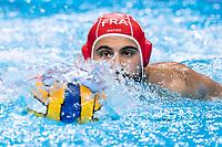13 FRA FONTANI Hugo France<br />  <br /> Budapest 16/01/2020 Duna Arena <br /> France (white caps) Vs. Italy (blue caps) Men<br /> XXXIV LEN European Water Polo Championships 2020<br /> Photo  ©Giorgio Scala / Deepbluemedia / Insidefoto
