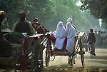 Afghan women lifting the veil