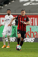 Steven Zuber (Eintracht Frankfurt)<br /> - 03.10.2020: Fussball  Bundesliga, Saison 20/21, Spieltag 3, Eintracht Frankfurt vs. TSG 1899 Hoffenheim, emonline, emspor, v.l. Deutsche Bank Park<br /> Foto: Marc Schueler/Sportpics.de <br /> Nur für journalistische Zwecke. Only for editorial use. (DFL/DFB REGULATIONS PROHIBIT ANY USE OF PHOTOGRAPHS as IMAGE SEQUENCES and/or QUASI-VIDEO)