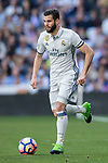 Nacho Fernandez of Real Madrid in action during their La Liga match between Real Madrid and Deportivo Alaves at the Santiago Bernabeu Stadium on 02 April 2017 in Madrid, Spain. Photo by Diego Gonzalez Souto / Power Sport Images