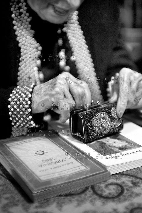 Carla Porta Musa, scrittrice e poetessa, è nata a Como nel 1902 e quest'anno a Marzo compirà 110 anni.