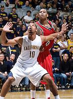 11 November 2009:  Detroit Titans Men's Basketball vs California at Haas Pavilion in Berkeley, California.   California defeated Detroit, 95-61.