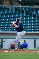 AZL Brewers designated hitter Pat McInerney (62) bats during a game against the AZL Cubs on August 6, 2017 at Sloan Park in Mesa, Arizona. AZL Cubs defeated the AZL Brewers 8-7. (Zachary Lucy/Four Seam Images)