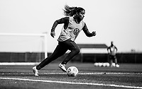 COMMERCE CITY, CO - OCTOBER 25: Catarina Macario of the USWNT dribbles at Dick's Sporting Goods training fields on October 25, 2020 in Commerce City, Colorado.