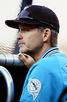 Florida Marlins Manager John Boles during a game against the Los Angeles Dodgers at Dodger Stadium circa 1999 in Los Angeles, California. (Larry Goren/Four Seam Images)