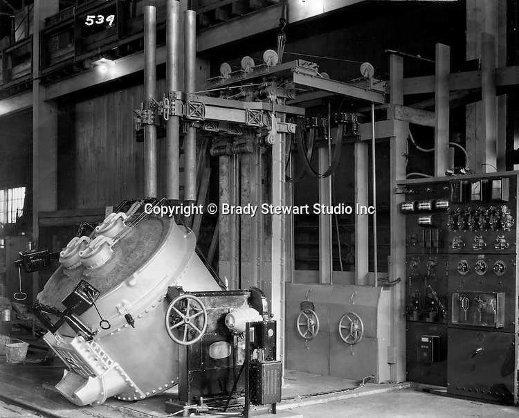 Client: Swindell Dressler Corporation<br /> Ad Agency: George Ketchum Advertising<br /> Contact: George Ketchum<br /> Product: Swindell Dressler Steel Electric Furnace<br /> Location: Allegheny Steel Plant in Monaca PA.<br /> <br /> Allegheny Steel (Allegheny Ludlum Steel) was Swindell Dressler's biggest customer for Electric Furnaces. The finest quality steels and alloys are produced in these furnaces. The Electric furnace provides more control of the temperature than other types of furnaces.  <br /> <br /> Swindell Dressler International Company was based in Pittsburgh, Pennsylvania. The company was founded by Phillip Dressler in 1915 as American Dressler Tunnel Kilns, Inc.  In 1930, American Dressler Tunnel Kilns, Inc., merged with William Swindell and Brothers to form Swindell-Dressler Corporation. The Swindell brothers designed, built, and repaired metallurgical furnaces for the steel and aluminum industries. The new company offered extensive heat-treating capabilities to heavy industry worldwide.