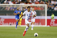 PHILADELPHIA, PENNSYLVANIA - JUNE 30: Weston McKennie #8 during the 2019 CONCACAF Gold Cup quarterfinal match between the United States and Curacao at Lincoln Financial Field on June 30, 2019 in Philadelphia, Pennsylvania.