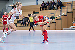 Mannheim, Germany, December 01: During the Bundesliga indoor women hockey match between Mannheimer HC and Nuernberger HTC on December 1, 2019 at Irma-Roechling-Halle in Mannheim, Germany. Final score 7-1. Isabella Schmidt #31 of Mannheimer HC<br /> <br /> Foto © PIX-Sportfotos *** Foto ist honorarpflichtig! *** Auf Anfrage in hoeherer Qualitaet/Aufloesung. Belegexemplar erbeten. Veroeffentlichung ausschliesslich fuer journalistisch-publizistische Zwecke. For editorial use only.