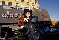 Montreal (Qc) CANADA - Nov 1993 File Photo -<br /> <br /> Juliette at Les Francofolies de Montreal.<br /> <br /> <br /> <br /> -Photo (c)  Images Distribution