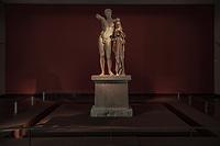 Ermes con Dioniso di Prassitele - Museo archeologico di Olimpia (Grecia) Patrimonio Unesco