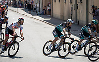 Peter Sagan (SVK/Bora-Hansgrohe) rolling through town<br /> <br /> 'La Primavera' (Spring) in summer!<br /> 111st Milano-Sanremo 2020 (1.UWT)<br /> 1 day race from Milano to Sanremo (305km)<br /> <br /> the postponed edition > exceptionally held in summer because of the Covid-19 pandemic calendar reshuffle