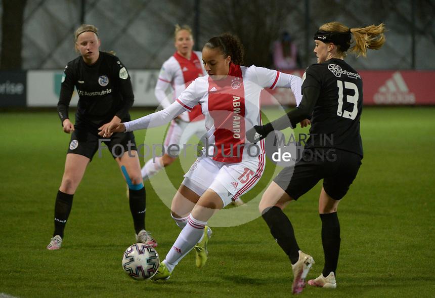 VOETBAL: AMSTERDAM: 05-03-2021, De Toekomst, Eredivisie Vrouwen, AJAX - sc Heerenveen, uitslag 1-1, Chasity Grant, ©foto Martin de Jong