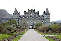 Inverary Castle seen from the garden