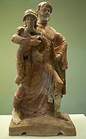 Museo Archeologico Olimpia Zeus che rapisce Ganimede, terracotta policroma corinzia  (altezza 1,1 m) 480 - 470 a.C Patrimonio Unesco