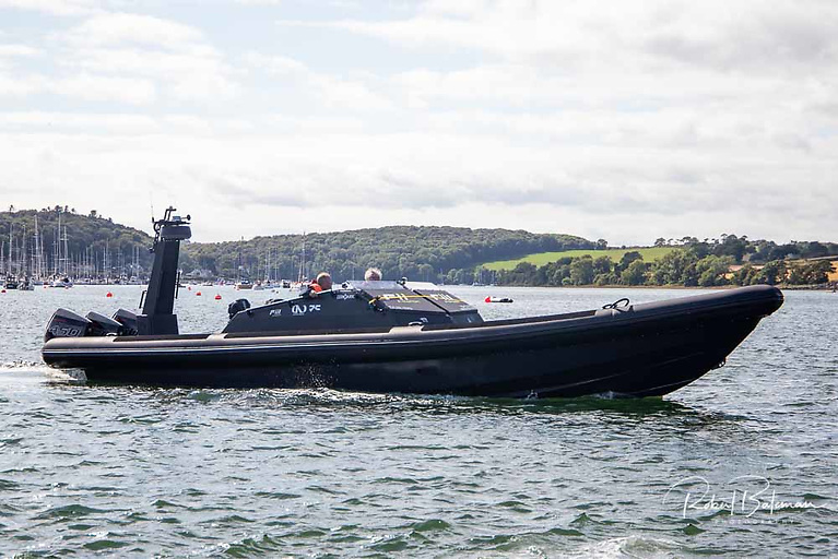 Middle engine problems forced the cancellation of the Cork to Dublin speed record attempt for the Zerodark RIB.