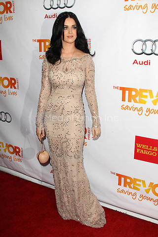 LOS ANGELES, CA - DECEMBER 02: Katy Perry at 'Trevor Live' honoring Katy Perry and Audi of America for The Trevor Project held at The Hollywood Palladium on December 2, 2012 in Los Angeles, California. Credit: mpi21/MediaPunch Inc.